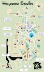 Hollywood Studios Map KennythePirate Version