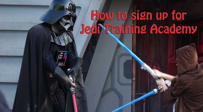 How to sign up for Jedi Training Academy at Disney's Hollywood Studios