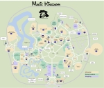 Magic Kingdom Map KennythePirate