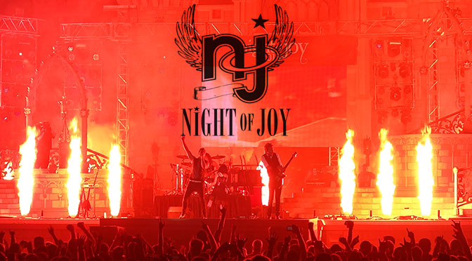 Night of Joy 2014 Tickets now on sale and concert lineup listing