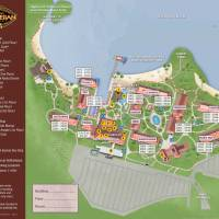 Polynesian Village Resort Map