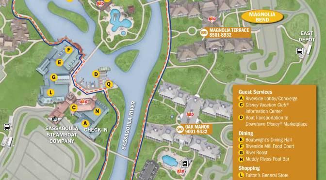 Port Orleans French Quarter Resort Map