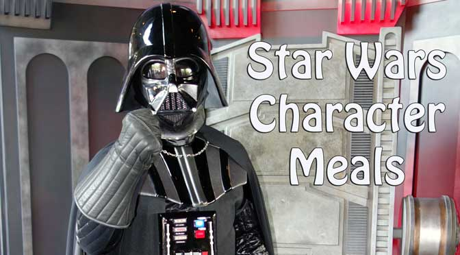 Star Wars Weekends Character Meals coming to Walt Disney World for a limited time.
