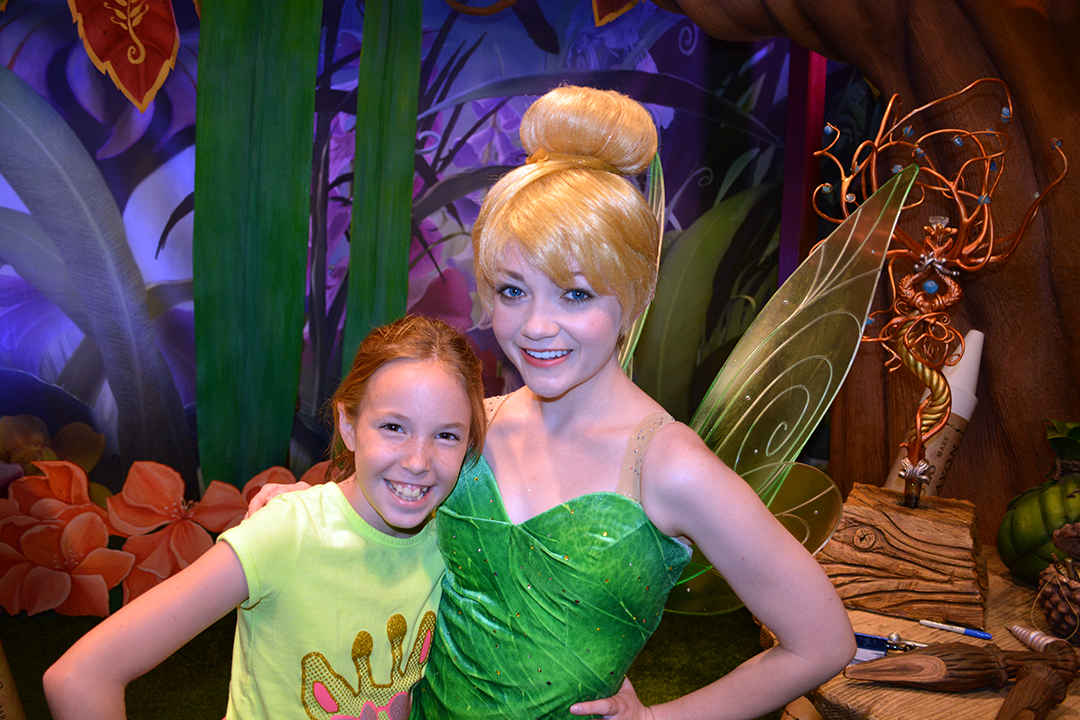 list of character meet and greets at disney world