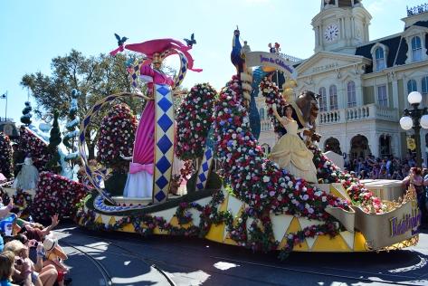 Walt Disney World, Magic Kingdom, Festival of Fantasy Parade, Princess Float