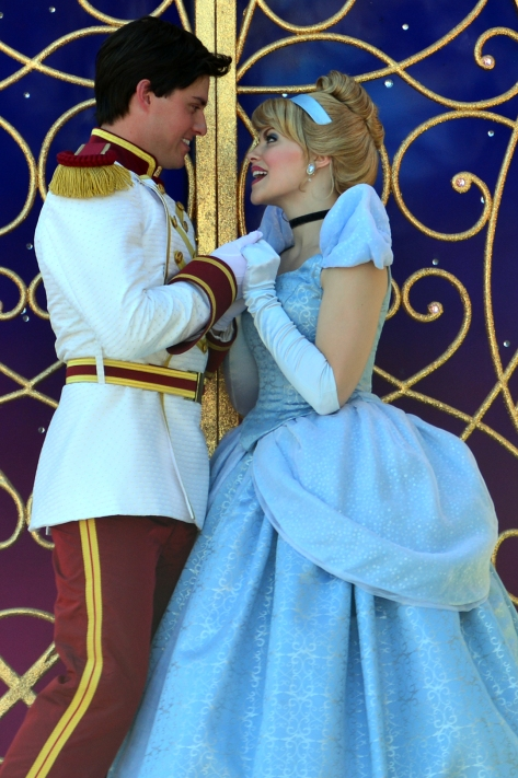Walt Disney World, Magic Kingdom, Festival of Fantasy Parade, Cinderella and Prince Charming