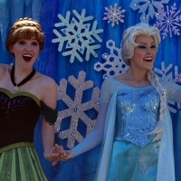 Where can I find Anna and Elsa and Kristoff in Walt Disney World?