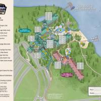 Wilderness Lodge Resort Map
