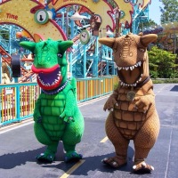 RUMOR:  Carnotaurus and Conniesaurus may be returning to Disney's Animal Kingdom.