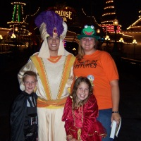 Aladdin meet and greets at Disneyland