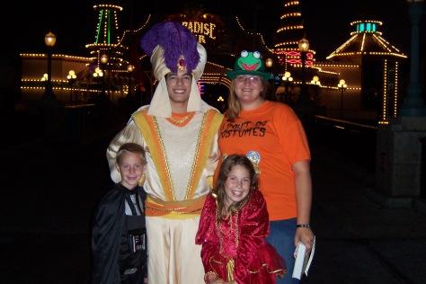 Aladdin as Prince Ali Disneyland Character Meet and Greet Mickey's Halloween Party 2007
