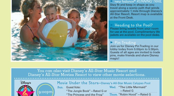 All Star Sports Resort Recreation Activity Guide