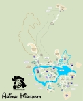 Animal Kingdom Map KennythePirate