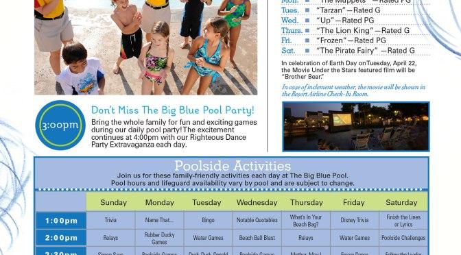 Art of Animation Resort Recreation Activity Guide