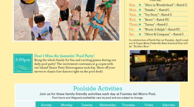 Caribbean Beach Resort Recreation Activity Guide