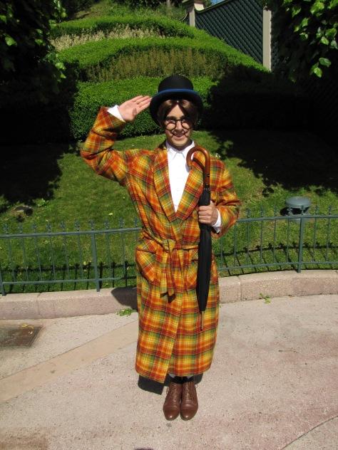 John Darling meet and greet at Disneyland Paris