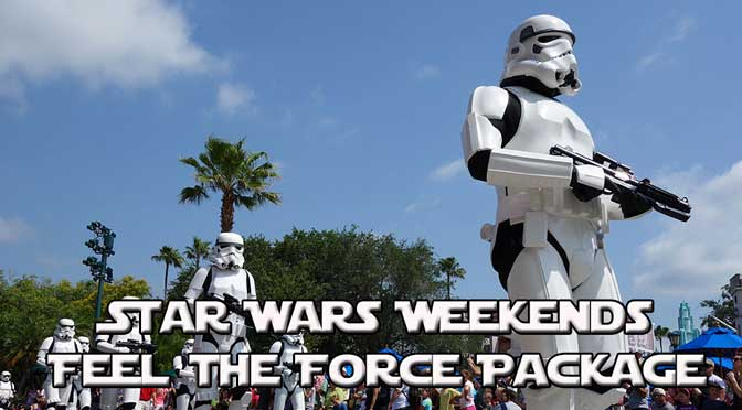 Star Wars Weekends:  Feel the Force Parade and Fireworks Viewing and Dessert Party Premium Package