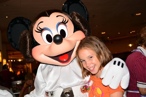 Princess Leia Minnie Mouse Jedi Mickey Star Wars Diner at Hollywood and Vine in Disney Hollywood Studios