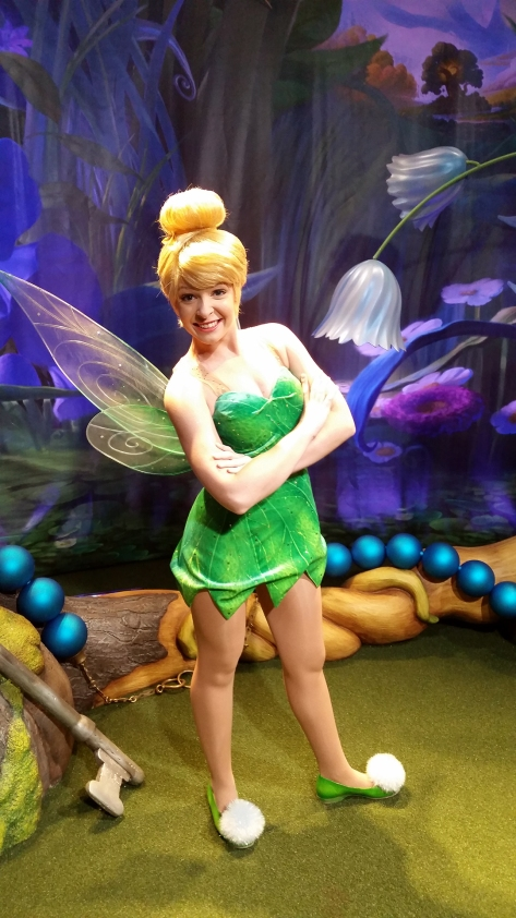 Meet Tinker Bell at Town Square Theater in Walt Disney World Magic Kingdom