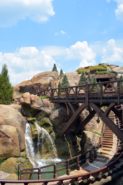 Seven Dwarfs Mine Train Exterior