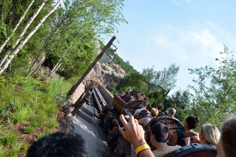 Seven Dwarfs Mine Train at Walt Disney World's Magic Kingdom in New Fantasyland (43)