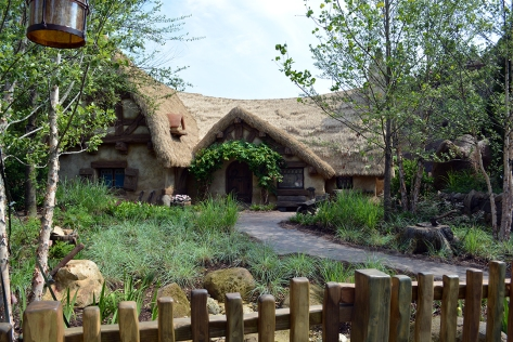 Seven Dwarfs Mine Train Dwarfs House