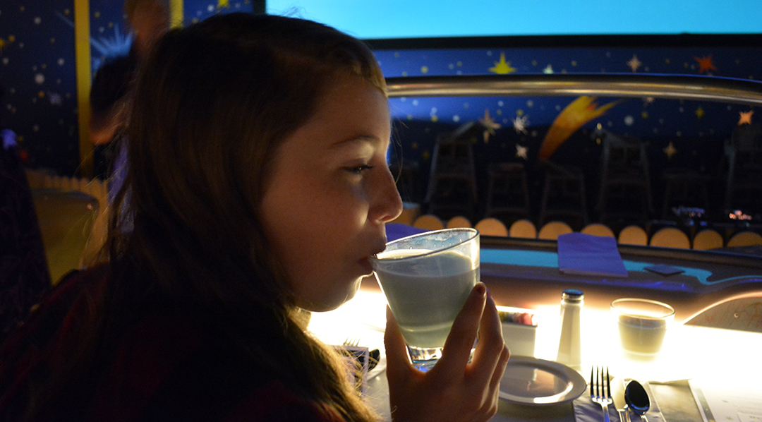Bantha Milk At Star Wars Galactic Dine In Character