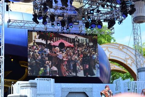 Star Wars Weekends Celebrity Motorcade Feel the Force Premium Package (25)