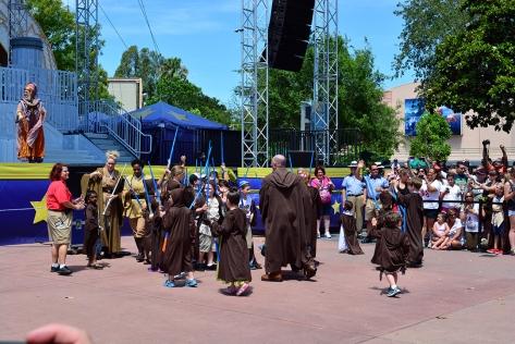 Star Wars Weekends Celebrity Motorcade Feel the Force Premium Package (34)
