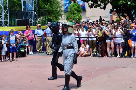 Star Wars Weekends Celebrity Motorcade Feel the Force Premium Package (41)