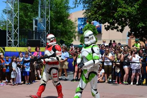 Star Wars Weekends Celebrity Motorcade Feel the Force Premium Package (49)
