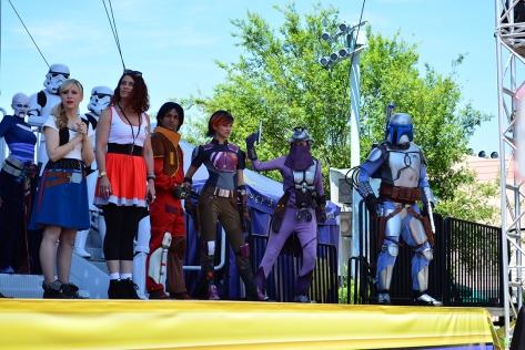 Star Wars Weekends Celebrity Motorcade Feel the Force Premium Package (5)