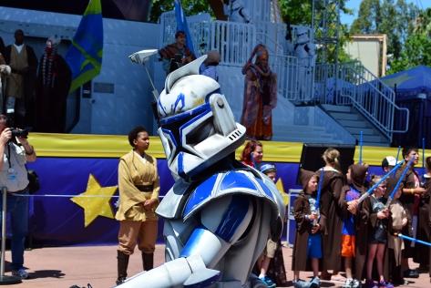 Star Wars Weekends Celebrity Motorcade Feel the Force Premium Package (64)