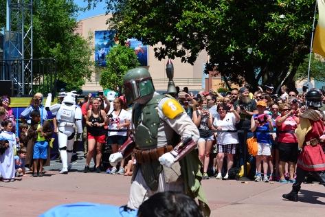Star Wars Weekends Celebrity Motorcade Feel the Force Premium Package (82)