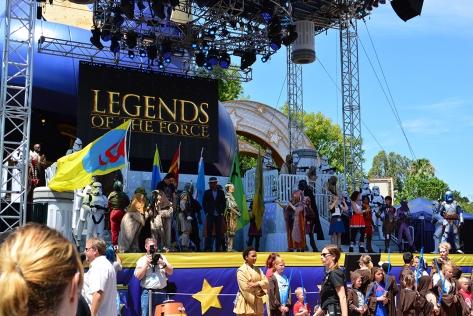 Star Wars Weekends Celebrity Motorcade Feel the Force Premium Package (87)