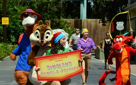 Animal Kingdom Dinoland Dance a Palooza dance party