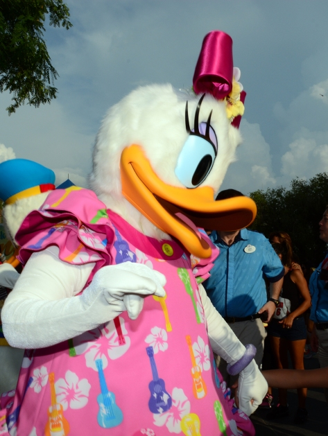 Daisy Duck Rock your summer side dance party at Hollywood Studios June 2014