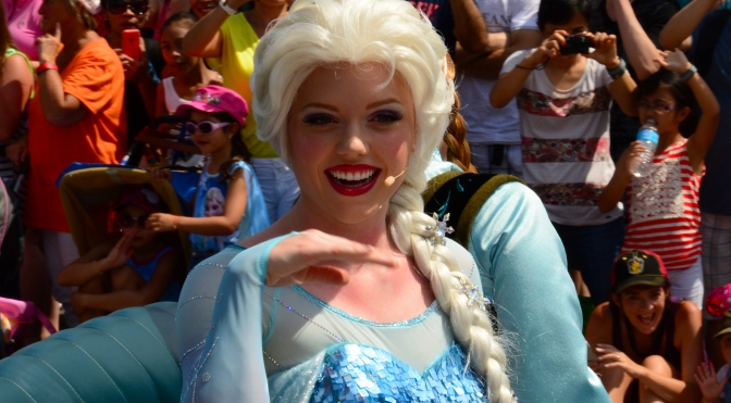 Maneuvering  Hollywood Studios Extra Magic Hour day with Frozen Summer of Fun activities
