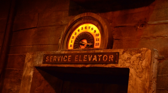 Tower of Terror Memory Maker on-ride video
