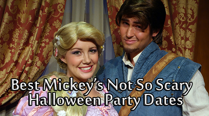Which MIckey's Not So Scary Halloween Party is best?