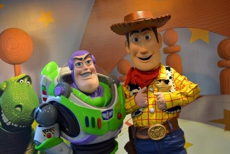 Disney's Hollywood Studios Buzz n Woody meet and Greet