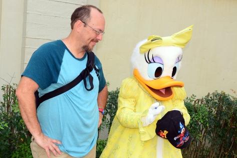 Disney's Hollywood Studios meet and greet Daisy