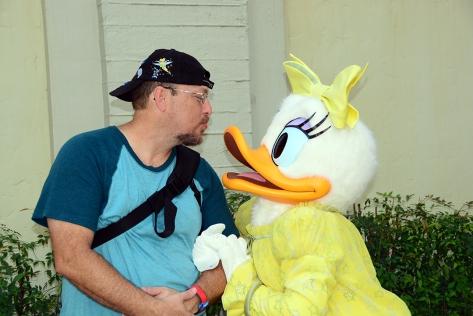 Disney's Hollywood Studios meet and greet Daisy Duck