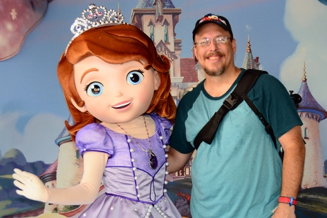 Disney's Hollywood Studios meet and greet Sofia the First
