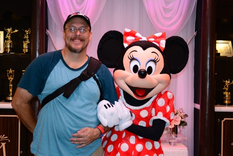Disney's Hollywood Studios meet and greet Minnie Mouse