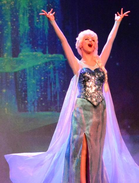 Frozen sing a long Elsa