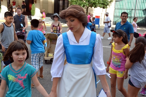 Character Palooza at Hollywood Studios August 2014 Belle (1)