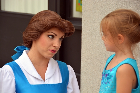 Character Palooza at Hollywood Studios August 2014 Belle (2)