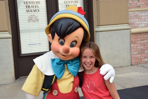 Character Palooza at Hollywood Studios August 2014 Family