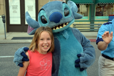Character Palooza at Hollywood Studios August 2014 Stitch